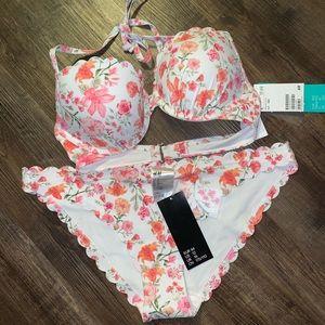 NWT H&M Push-up Bikini